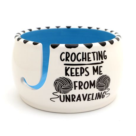 Crocheting Unraveling Bowl