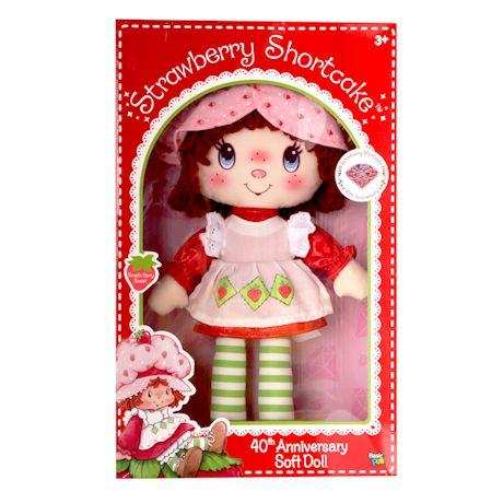 40Th Anniversary Strawberry Shortcake Plush Doll