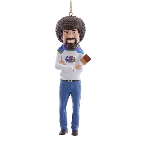 Bob Ross Ornament Set