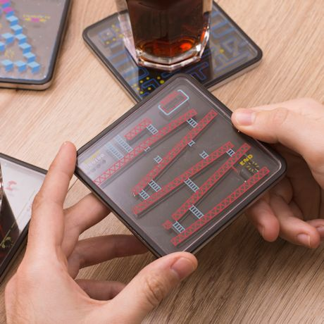 Retro Game Puzzle Coaster Set