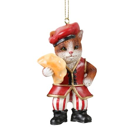International Cat Ornaments - Polish