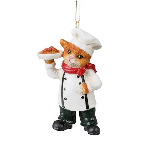 International Cat Ornaments - Italian