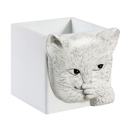 Sniffly Cat Tissue Box Holder