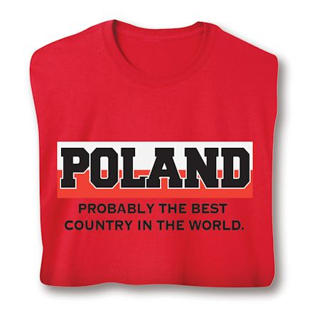 Best Country Shirts - Poland