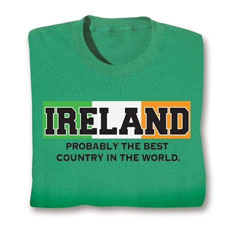 Best Country Shirts - Ireland