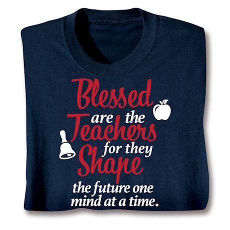 Blessed Are The Essential Workers Shirts - Teacher