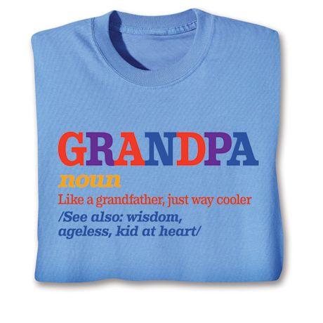 Family Noun Shirts - Grandpa