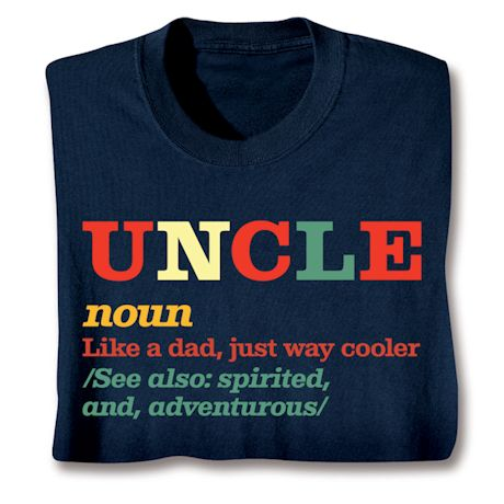 Family Noun Shirts - Uncle