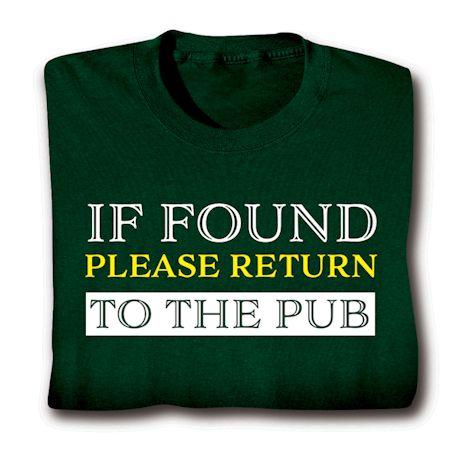 Return To The Pub Shirts