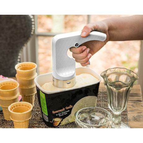 Cylindrical Ice Cream Scoop