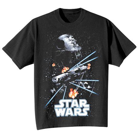 Glow-In-The-Dark Star Wars T-Shirt