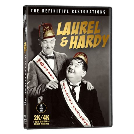 Laurel & Hardy Definitive Restorations DVDs