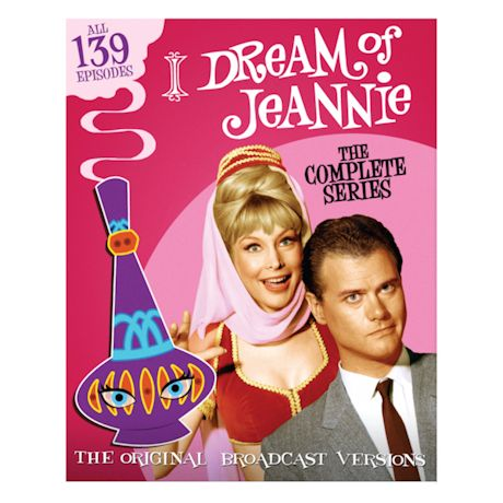 The Complete I Dream Of Jeannie DVD Set