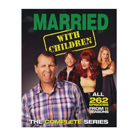 Complete Married With Children Dvd Set