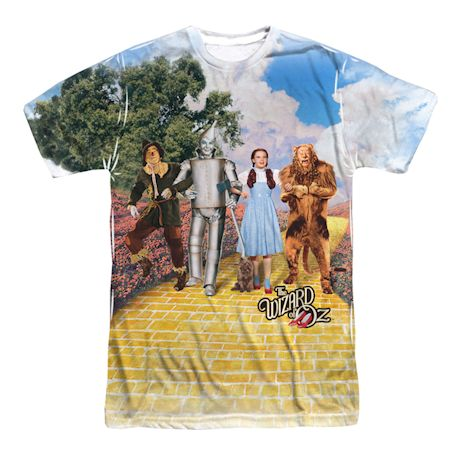 The Wizard Of Oz Sublimated T-Shirt