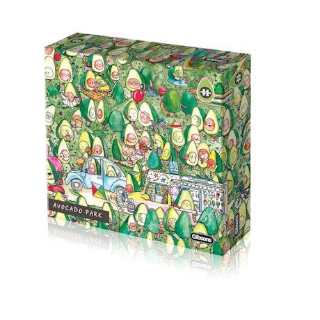 Avocado Park 1000 Piece Puzzle
