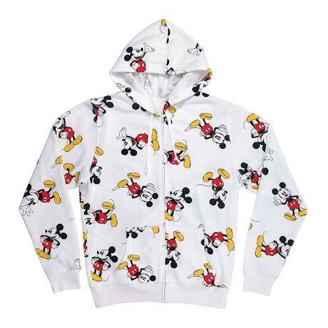 Mickey Mouse Zip Hoodie