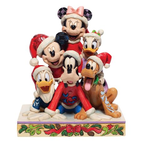 Mickey Mouse & Friends Holiday Figure