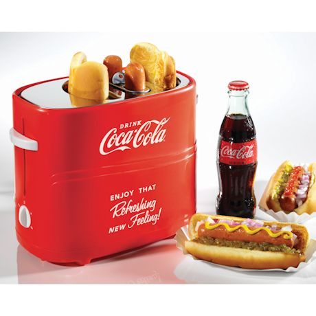 Coca-Cola Hot Dog / Bun Toaster