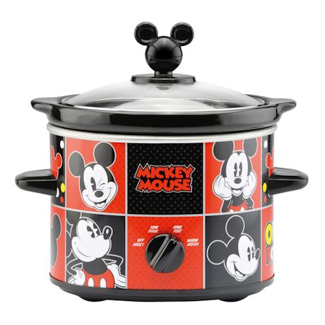 Mickey Mouse Slow Cooker And Accessories
