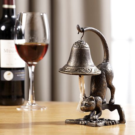 Cast Iron Cat Table Bell
