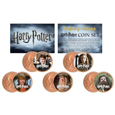 Harry Potter Halfpenny Heroes Set