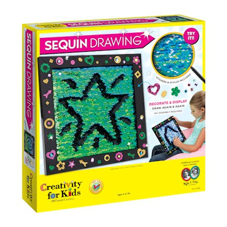 Sequin Drawing Board Game
