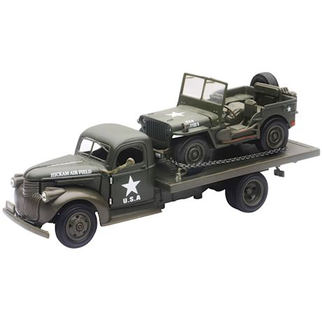 Army Truck & Jeep Die-Cast Collectibles