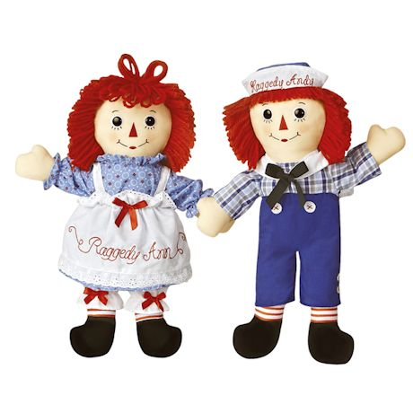 Raggedy Ann Plush Dolls