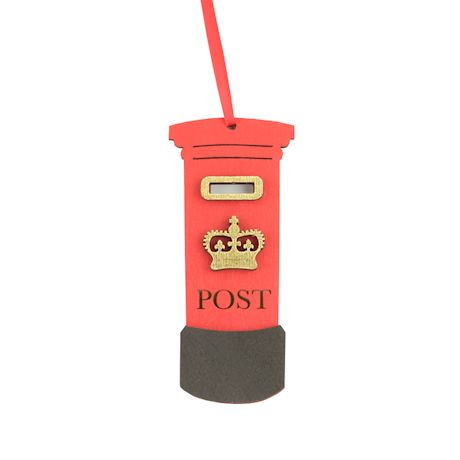 British Ornaments - Post Box