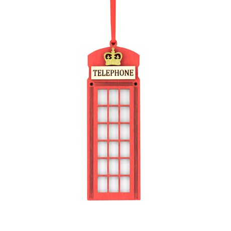 British Ornaments - Telephone Booth