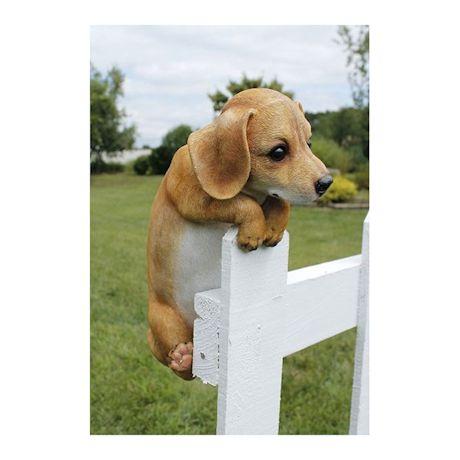 Hang On Puppy Garden Figure
