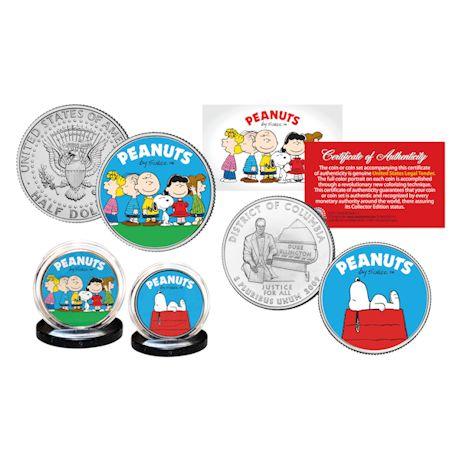 Peanuts Gang Coin Set