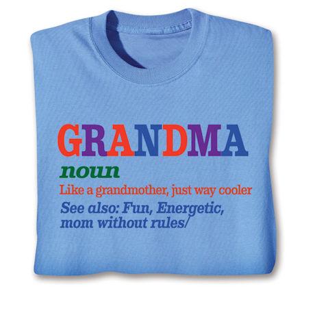 Family Noun Shirts - Grandma