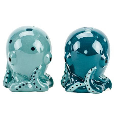 Octo Salt & Pepper Shakers