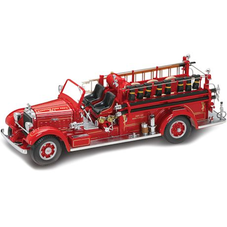 1935 Mack 75BX Fire Engine Die-Cast Model