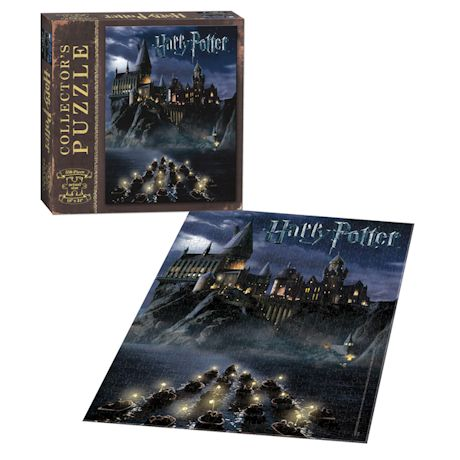 World Of Harry Potter 550 Piece Collector's Puzzle