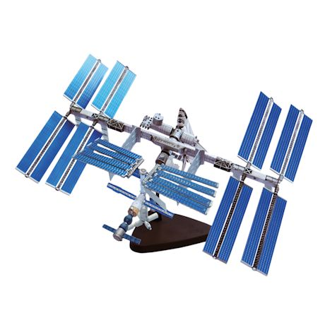 International Space Station 4D Puzzle