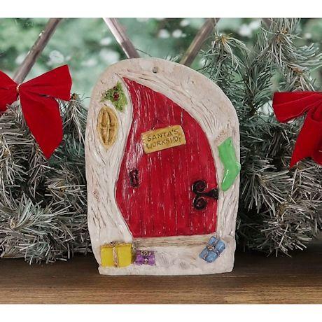Irish Christmas Doors - Santa's Workshop