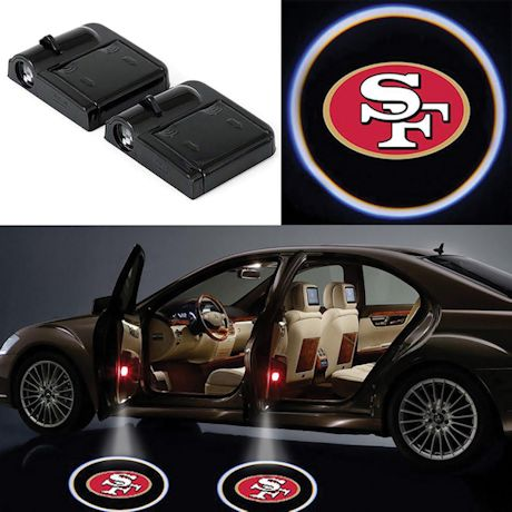 NFL Car Door Lights