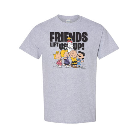 Friends Lift us Up Peanuts T-Shirt