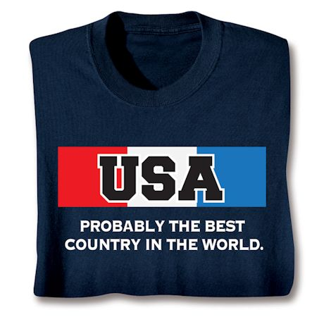 Best Country Shirts - USA