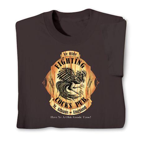 Ye Olde Fighting Cocks Pub - St. Albans, England T-Shirts