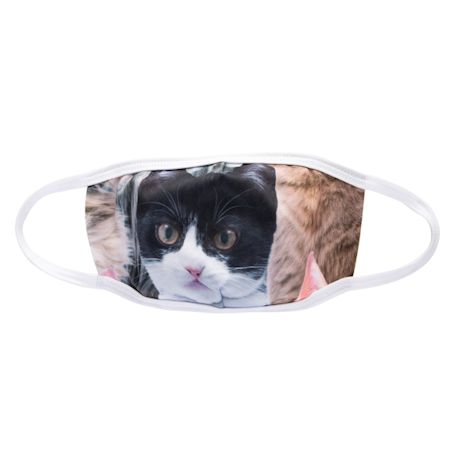 Black Cat Face Mask Two-Pack