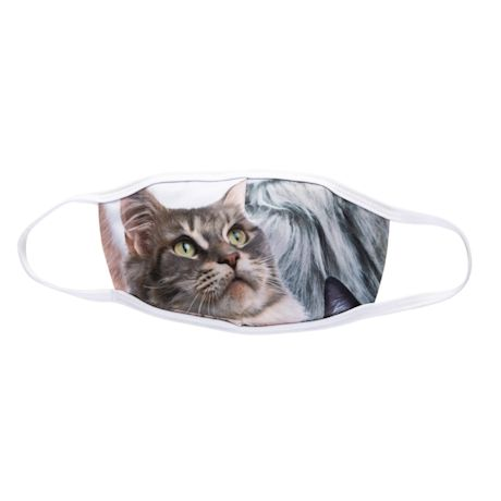 Tabby Cat Face Mask Two-Pack