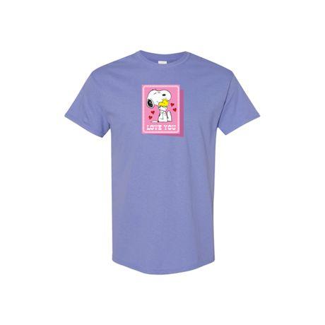 Snoopy Card Valentine's Day Peanuts T-Shirts