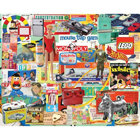 Boomers Favorite Toys Puzzle