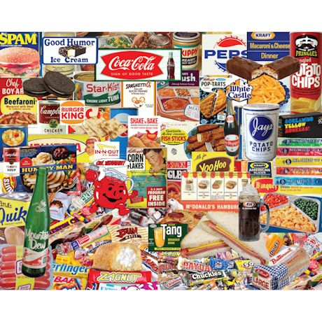 Boomers Favorite Foods Puzzle