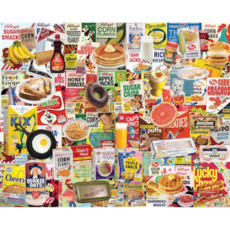 Boomers Favorite Breakfast Foods Puzzle