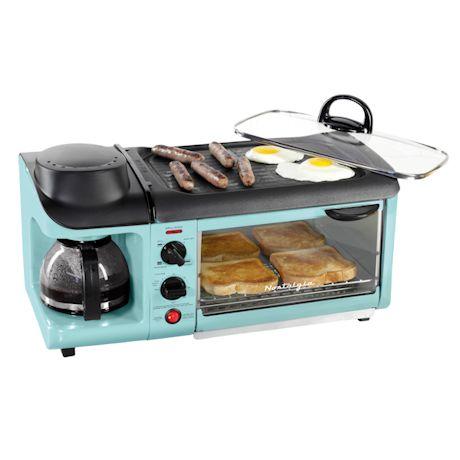 Classic 3-In-1 Retro Breakfast Station